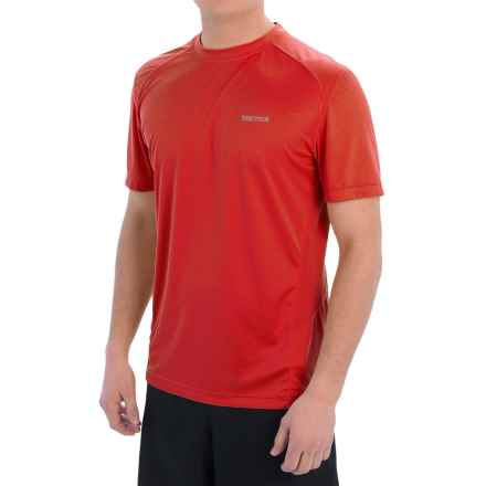 Marmot Windridge Shirt - UPF 50, Short Sleeve (For Men) in Scarlet Red - Closeouts