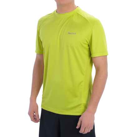 Marmot Windridge Shirt - UPF 50, Short Sleeve (For Men) in Sulphur - Closeouts