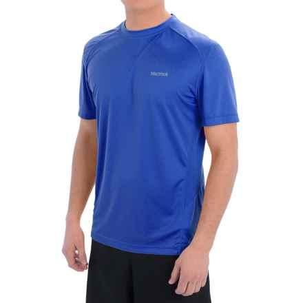 Marmot Windridge Shirt - UPF 50, Short Sleeve (For Men) in True Blue - Closeouts