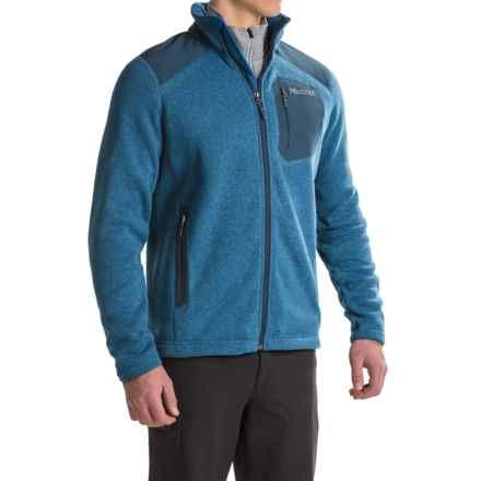 Marmot Wrangell Fleece Jacket (For Men) in Blue Night/Dark Ink - Closeouts