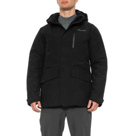 Marmot Yorktown Featherless Jacket - Waterproof, Insulated (For Men) in Black - Closeouts