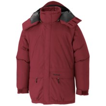 Marmot Yukon Classic Down Parka - Waterproof, 650 Fill Power (For Big Men) in Brick - Closeouts