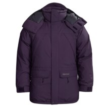 Marmot Yukon Classic Down Parka - Waterproof, 650 Fill Power (For Big Men) in Eggplant - Closeouts