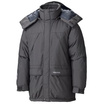 Marmot Yukon Classic Down Parka - Waterproof, 650 Fill Power (For Men) in Dark Granite