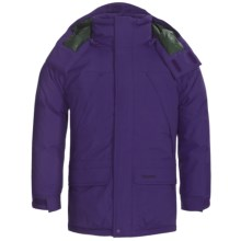 Marmot Yukon Jr. Classic Down Parka - 650 Fill Power (For Young Men) in Dark Violet - Closeouts