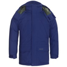 Marmot Yukon Jr. Classic Down Parka - 650 Fill Power (For Young Men) in Deep Blue - Closeouts
