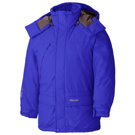 Marmot Yukon Jr. Classic Down Parka - 650 Fill Power (For Young Men) in Midnight Purple
