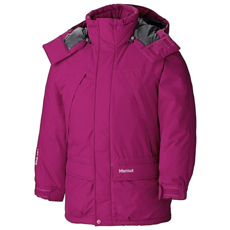 photo: Marmot Kids' Yukon Classic Parka down insulated jacket
