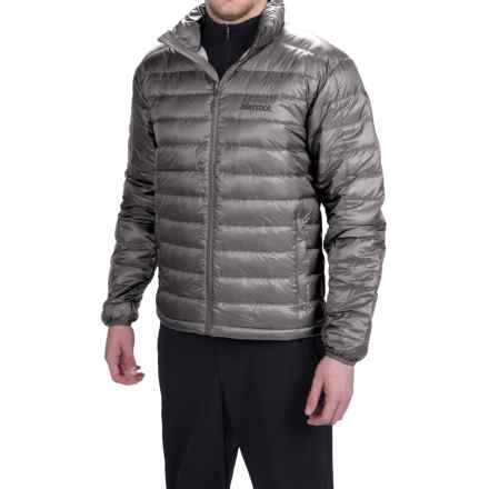Marmot Zeus Down Jacket - 700 Fill Power (For Men) in Cinder - Closeouts