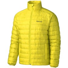 Marmot Zeus Down Jacket - 800 Fill Power (For Men) in Acid Yellow - Closeouts