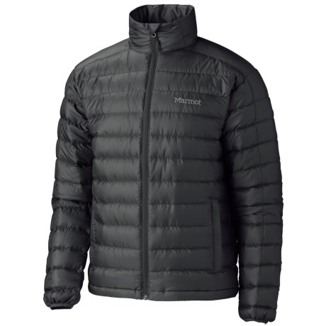 Marmot Zeus Down Jacket - 800 Fill Power (For Men) in Black