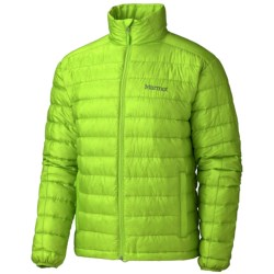 Marmot Zeus Down Jacket - 800 Fill Power (For Men) in Acid Yellow