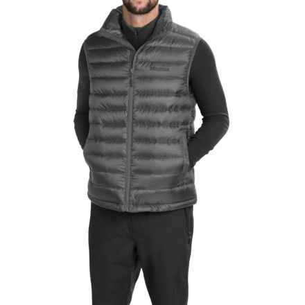 Marmot Zeus Down Vest - 700 Fill Power (For Men) in Cinder - Closeouts