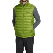 Marmot Zeus Down Vest - 700 Fill Power (For Men) in Green Lichen - Closeouts