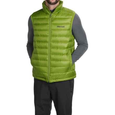 Marmot Zeus Down Vest - 700 Fill Power (For Men) in Green Lichen - Closeouts