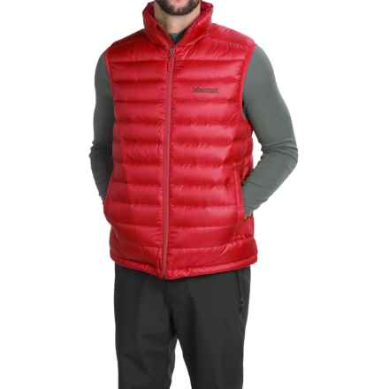 Marmot Zeus Down Vest - 700 Fill Power (For Men) in Team Red - Closeouts