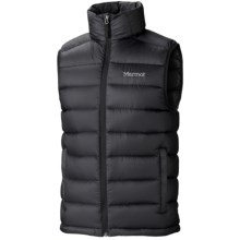 Marmot Zeus Down Vest - 800 Fill Power (For Men) in Black - Closeouts
