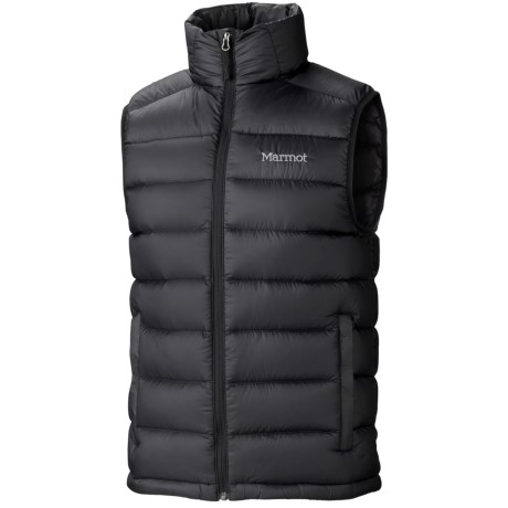 Marmot Zeus Down Vest - 800 Fill Power (For Men) in Black