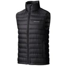 Marmot Zeus Down Vest - 800 Fill Power (For Men) in Black - Closeouts