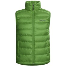 Marmot Zeus Down Vest - 800 Fill Power (For Men) in Bright Grass - Closeouts