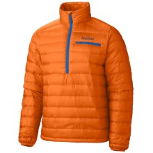 Marmot Zeus Zip Neck Down Jacket - 800 Fill Power (For Men) in Orange Spice - Closeouts
