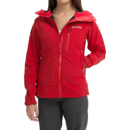 Marmot Zion Polartec® NeoShell® Jacket (For Women) in Team Red - Closeouts