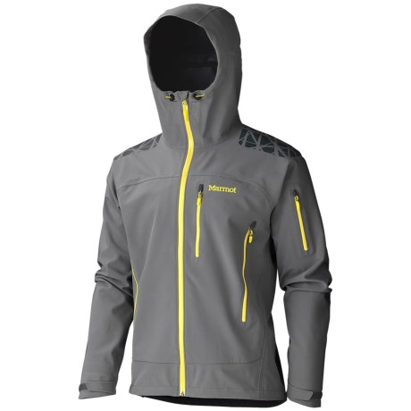 Marmot Zion Soft Shell Jacket - Polartec® NeoShell®, Waterproof (For Men) in Cinder