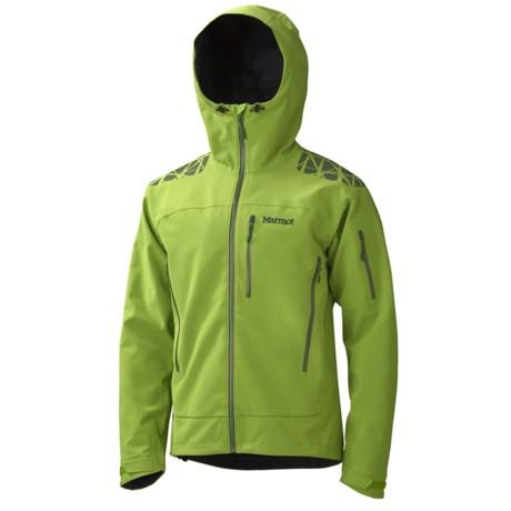 Marmot Zion Soft Shell Jacket - Polartec® NeoShell®, Waterproof (For Men) in Green Lichen