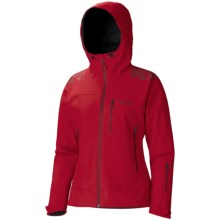 Marmot Zion Soft Shell Jacket - Waterproof (For Women) in Team Red - Closeouts