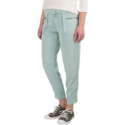 Marrakech Cabo Cropped Joggers (For Women) in Surf - Closeouts