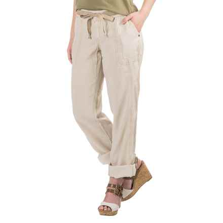 Marrakech Charlotte Roll-Tab Pants - TENCEL®-Linen (For Women) in Sandy - Closeouts