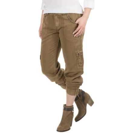 Marrakech Deidre Belted Cargo Pants (For Women) in Sahara - Closeouts