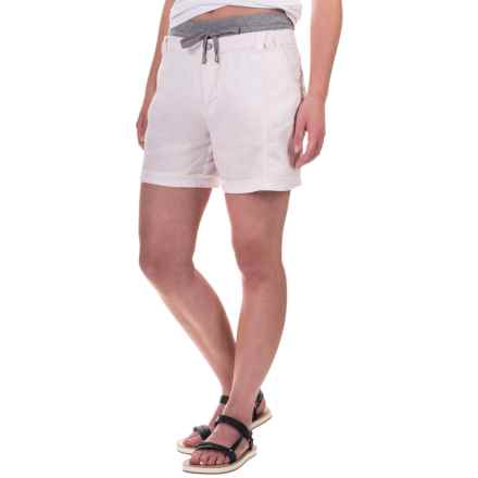 Marrakech Palmdale Shorts - Linen (For Women) in Blossom - Closeouts