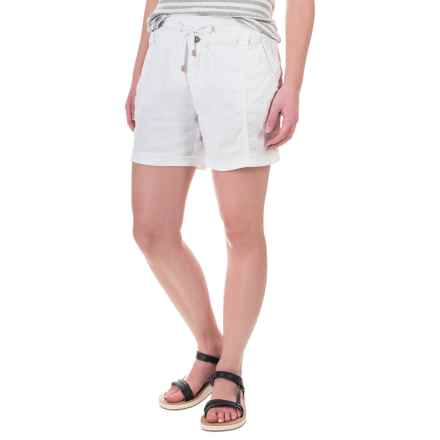 Marrakech Palmdale Shorts - Linen (For Women) in White - Closeouts