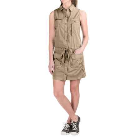 Marrakech Panama Dress - Sleeveless (For Women) in Pier - Closeouts