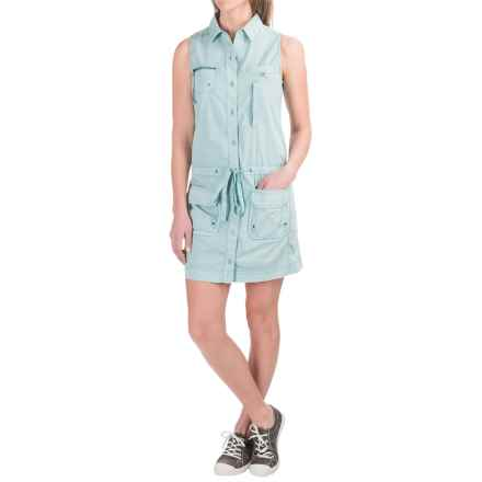 Marrakech Panama Dress - Sleeveless (For Women) in Surf - Closeouts