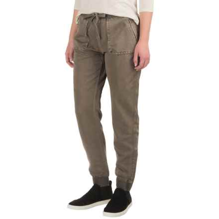 Marrakech Rio Joggers (For Women) in Mushroom - Closeouts