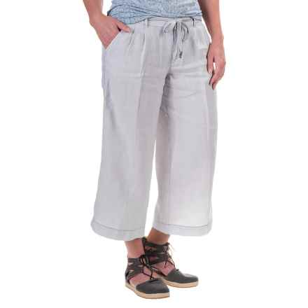 Marrakech Tanna Goucho Capris - Linen (For Women) in April - Closeouts