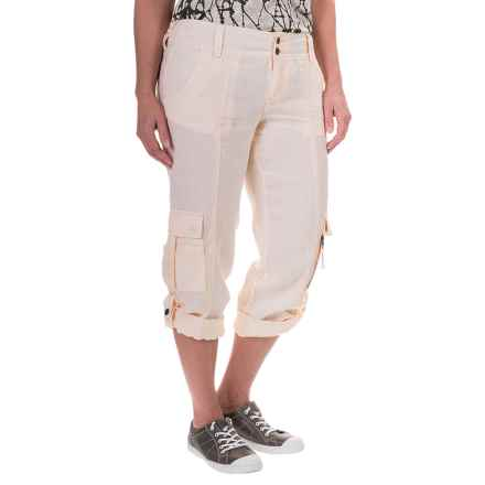 Marrakech Turner Linen Capris (For Women) in Spring - Closeouts