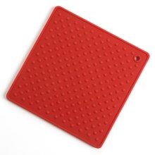 Martha Stewart Collection Trivet - Silicone in Red - Closeouts