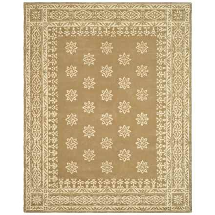 Martha Stewart Hand-Tufted Wool Area Rug - 5x8' in Spud - Closeouts