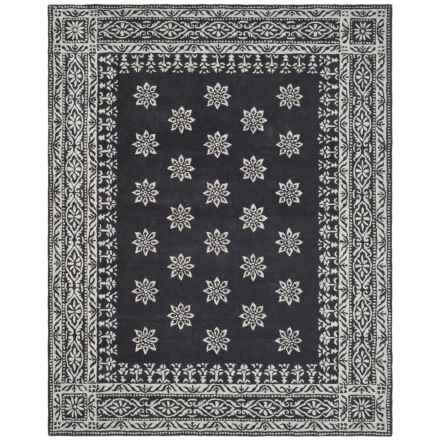 Martha Stewart Hand-Tufted Wool Area Rug - 5x8' in Weathervane - Closeouts