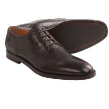 Martin Dingman Chaney Blucher Oxford Shoes (For Men) in Dark Chocolate - Closeouts