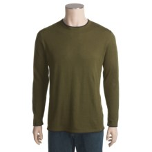 Martin Gordon Cotton-Cashmere Sweater (For Men) in Loden - Closeouts