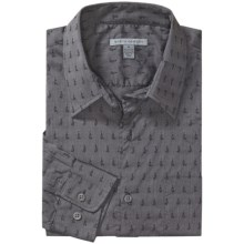 Martin Gordon Fancy Print Shirt - Long Sleeve (For Men) in Charcoal Print - Closeouts