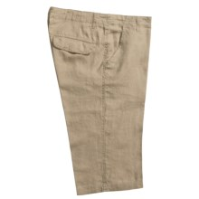 Martin Gordon Linen Shorts (For Men) in Khaki - Closeouts
