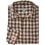 Martin Gordon Patterned Sport Shirt - Long Sleeve (For Men)