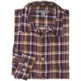 Martin Gordon Patterned Sport Shirt - Long Sleeve (For Men)