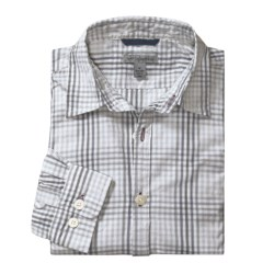 Martin Gordon Plaid Shadow Check Sport Shirt - Long Sleeve (For Men) in Purple
