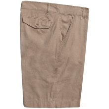Martin Gordon Ripstop Cotton Shorts (For Men) in Khaki - Closeouts